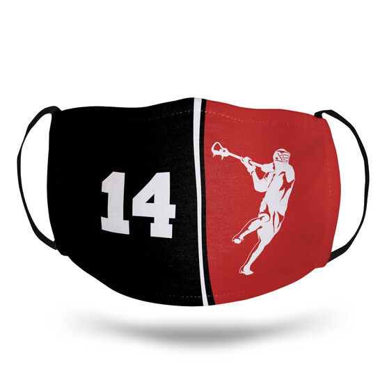 Guys Lacrosse Face Mask - Personalized Jumpshot