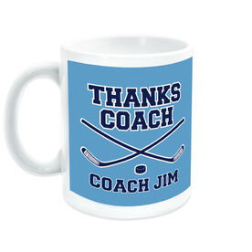 Hockey Coffee Mug Thanks Coach