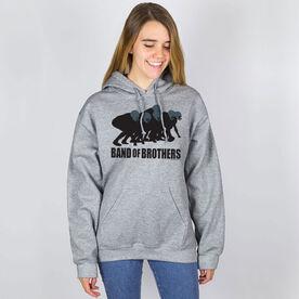 Football Hooded Sweatshirt - Football Band of Brothers