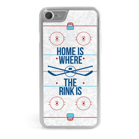 Hockey iPhone® Case - Home Is Where The Rink Is (Rink)