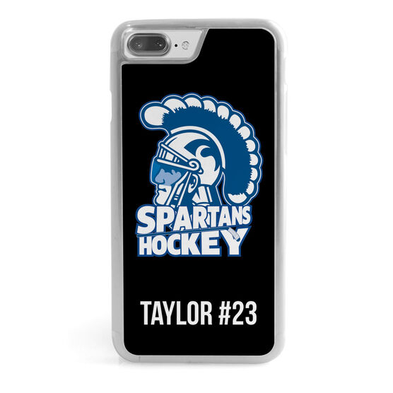 Hockey iPhone® Case - Custom Logo