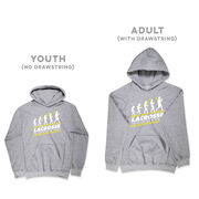 Guys Lacrosse Hooded Sweatshirt - Evolution of Lacrosse