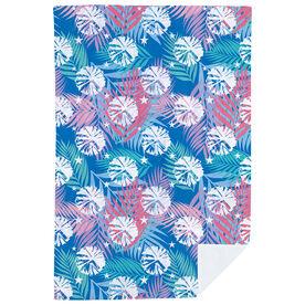 Cheerleading Premium Blanket - Tropical Palm