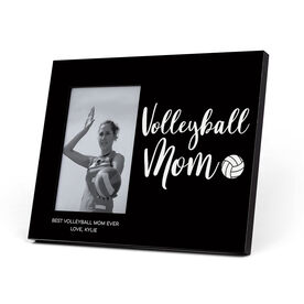 Volleyball Photo Frame - Volleyball Mom Script