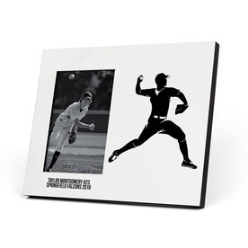 Baseball Photo Frame - Pitcher