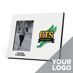 Cross Country Photo Frame - Custom Logo