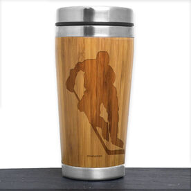 Bamboo Travel Tumbler Hockey Player Male