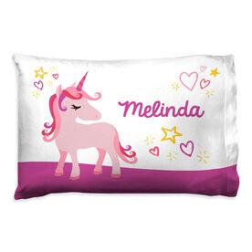 Personalized Pillowcase - Unicorn