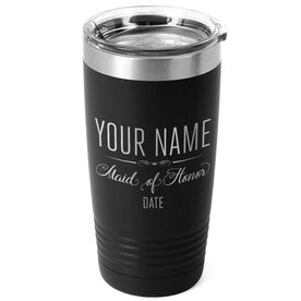 Personalized 20 oz. Double Insulated Tumbler - Maid of Honor