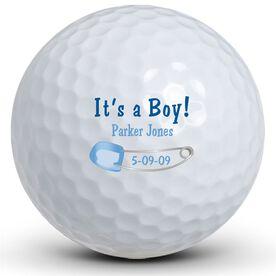 It's A Boy! Pin Golf Balls