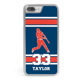 Baseball iPhone® Case - Batter and Number