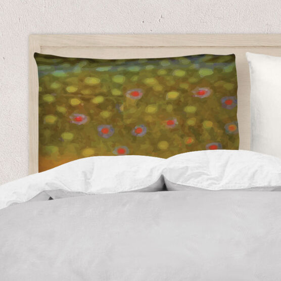Fly Fishing Pillowcase - Brook Trout