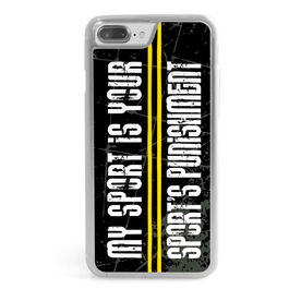 Cross Country iPhone® Case - Punishment Graphic