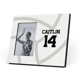 Volleyball Photo Frame - Volleyball Player Name and Number