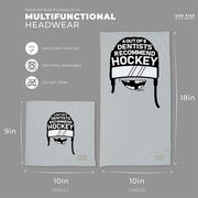 Hockey Multifunctional Headwear - 4 Out Of 5 Dentists Recommend Hockey RokBAND