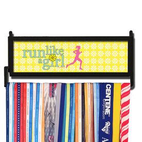 RunnersWALL Run Like a Girl Medal Display