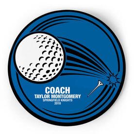 Golf Circle Plaque - Coach Fairway Drive