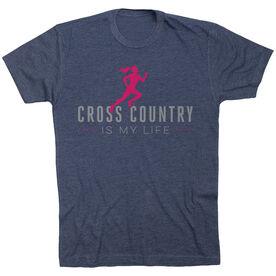 Cross Country Short Sleeve T-Shirt - My Life (Female)