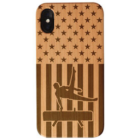 Gymnastics Engraved Wood IPhone® Case - USA Gymnastics Guy
