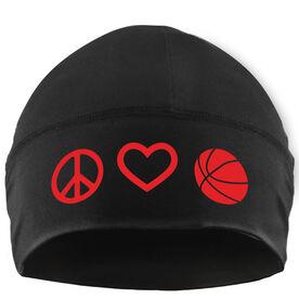 Beanie Performance Hat - Peace Love Basketball