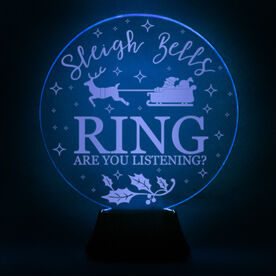 Acrylic LED Lamp - Sleigh Bell Rings