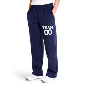 Fleece Sweatpants - Custom Team Name And Number