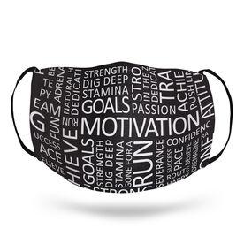 Running Face Mask - Motivation