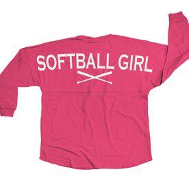 Softball Statement Jersey Shirt Softball Girl