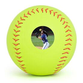 Custom Photo Softball