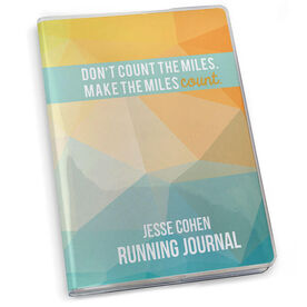 GoneForaRun Running Journal Don't Count The Miles