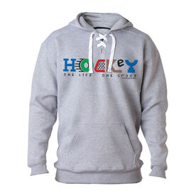 For Hockey Players Only Sweatshirt - Hockey One Life One Sport