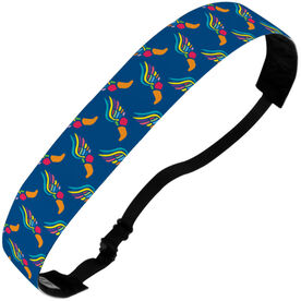 Track and Field Julibands No-Slip Headbands - Track & Field Pattern