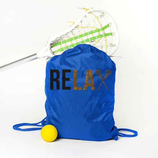 Lacrosse Sport Pack Cinch Sack Relax