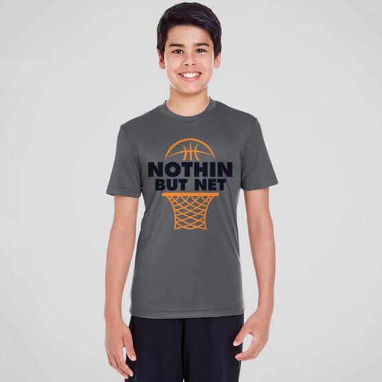 Basketball Short Sleeve Performance Tee - Nothin But Net