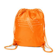 Crew Sport Pack Cinch Sack - Crew Row Team Sketch