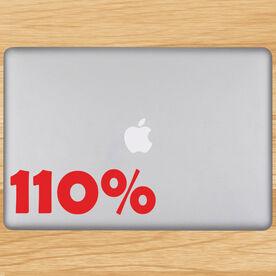 110% Removable GoneForaRunGraphix Laptop Decal