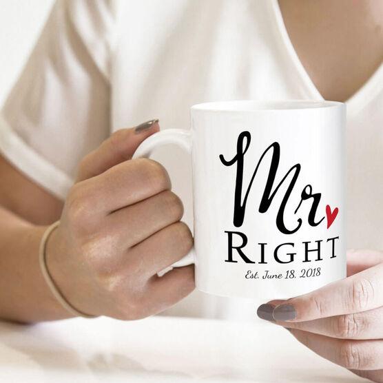 Personalized Coffee Mug - Mr. Right