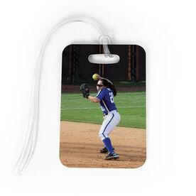 Softball Bag/Luggage Tag - Custom Photo