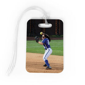 Softball Bag/Luggage Tag - Custom Photo