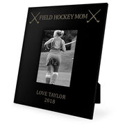 Field Hockey Engraved Picture Frame - Field Hockey Mom