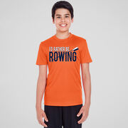 Crew Short Sleeve Performance Tee - I'd Rather Be Rowing