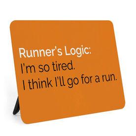 Running Desk Art - Runners Logic