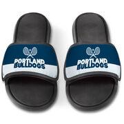 Tennis Repwell® Slide Sandals - Team Name Colorblock