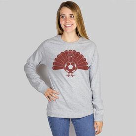 Soccer Long Sleeve T-Shirt - Turkey Player