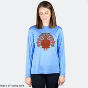 Girls Lacrosse Long Sleeve Performance Tee - Turkey Player