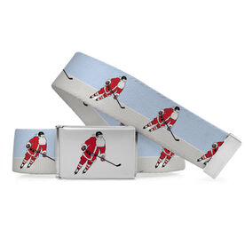 Hockey Lifestyle Belt Slap Shot Santa