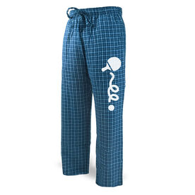 Ping Pong Lounge Pants Ball Bounceing with squiggly