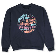 Crew Neck Sweatshirt - Forget The Glass Slippers