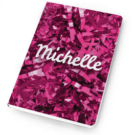 Cheerleading Notebook Personalized Pom Poms