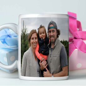 Custom Photo with Text Personalized Coffee Mug